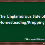 The Unglamorous Side of Homesteading & Prepping