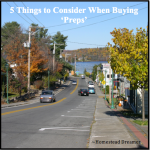 5 Things to Consider When Buying Preps