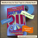 Medical Uses for Duct Tape in a Handy Book!