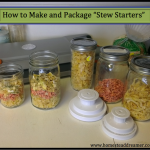 """How to Make Your Own """"Stew Starters"""""""