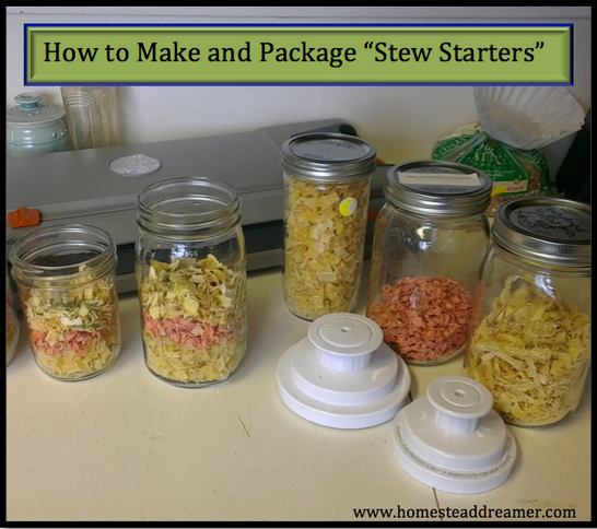 How to Make and Package Stew Starters