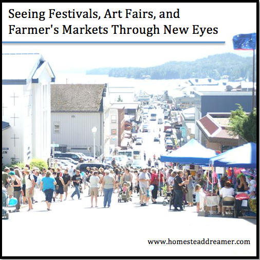 Seeing festivals art fairs and farmer 39 s markets through for Craft fairs and festivals