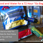 30 Days of Preparedness: Food and Water for a 72 Hour Go Bag