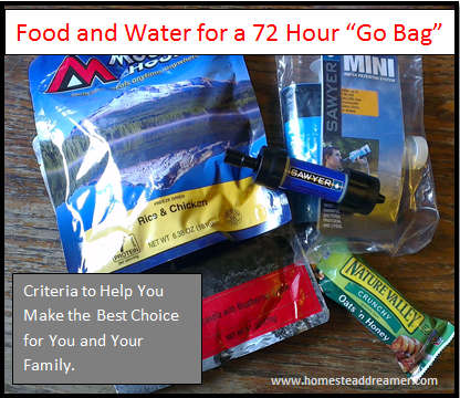 Food_and_Water_for_a_72_Hour_Go_Bag