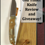 Old Timer Knife Review and Giveaway!