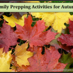 Family Prepping Activities for Autumn