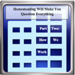 Homesteading Will Make You Question: Work