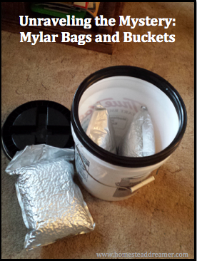 Mylar Bags and Buckets