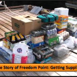 The Story of Freedom Point: Getting Supplies