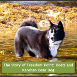 The Story of Freedom Point: Boats and a Bear Dog