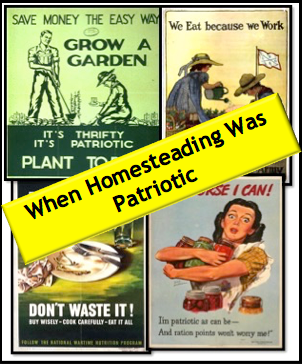 When Homesteading Was Patriotic