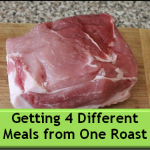 Getting 4 Different Meals From One Roast