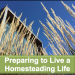 Preparing to Live a Homestead Life