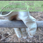 When to Call Professionals vs. DIY