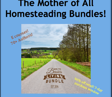 The Mother of All Homesteading Bundles